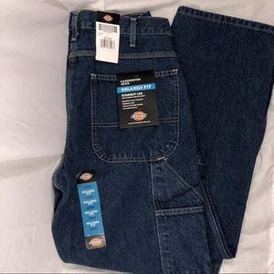 DICKIES Carpenter Jeans 32x30 Relaxed Fit Straight